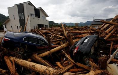 日本九州暴雨 已致11人死亡20人失联