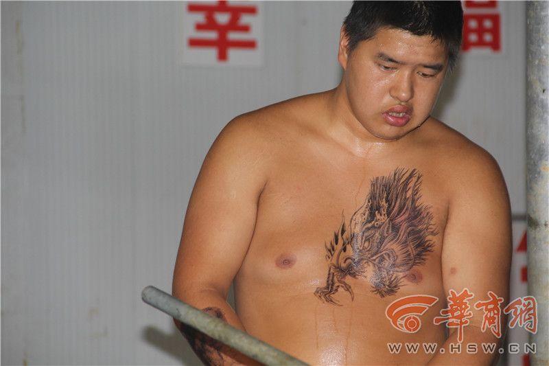 刺青 健美 纹身 800_533