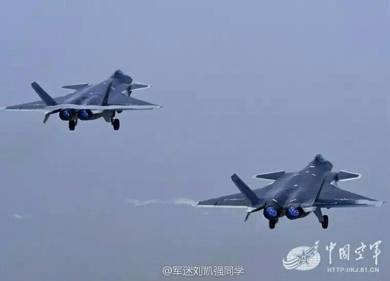 大国重器:歼20战机编队起飞很是震撼