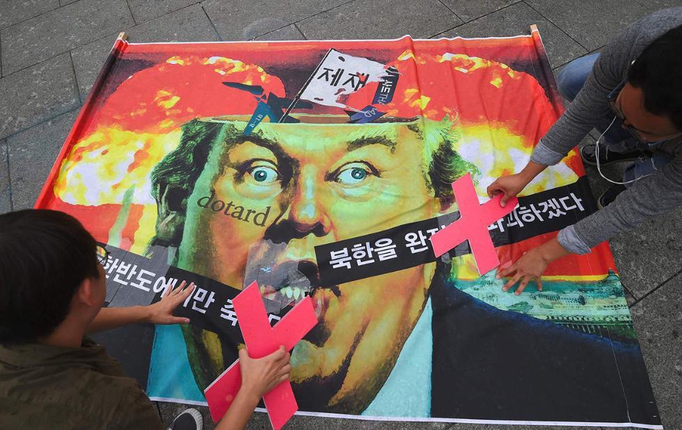 美国还没有放弃外交努力解决朝鲜半岛危机.