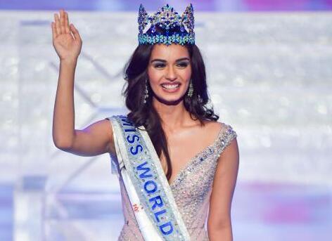 世界小姐总决赛印度佳丽摘桂冠
