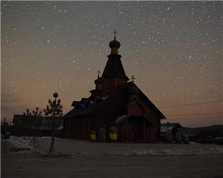黑龙江漠河璀璨星空 漫天繁星美轮美奂