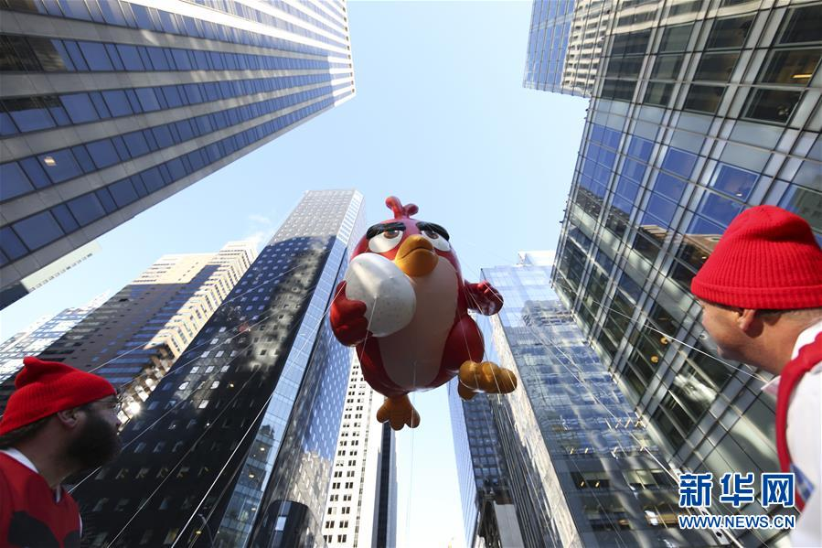 (国际)(1)纽约举行2017感恩节大游行