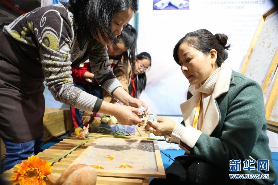 (社会)(1)第三届上海国际手造博览会拉开帷幕