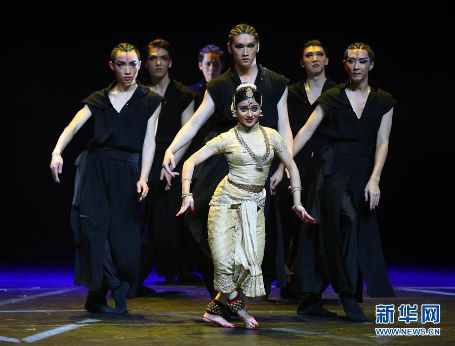 (文化)(1)中印联合编创舞剧《贝玛·莲》在京上演