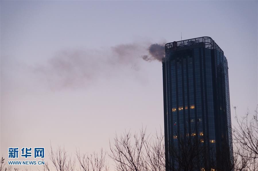 #(突发事件)(3)天津一大厦起火已致10人死亡
