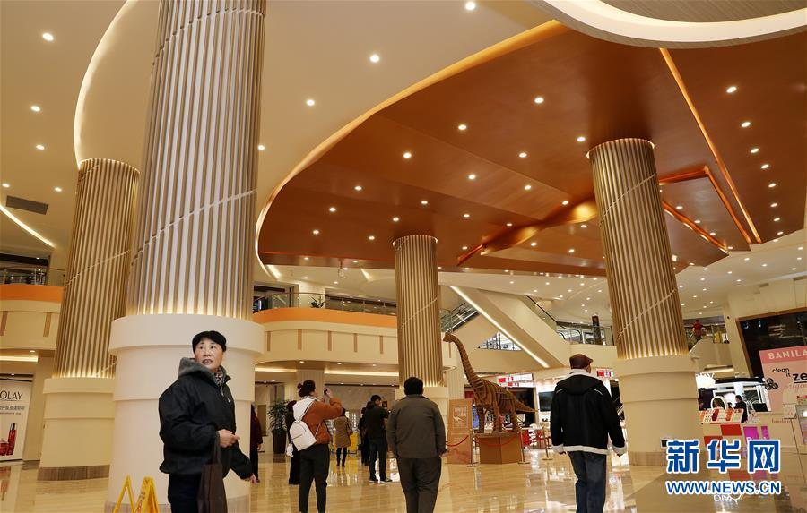 (经济)(3)上海:市百一店华丽转身重回南京路