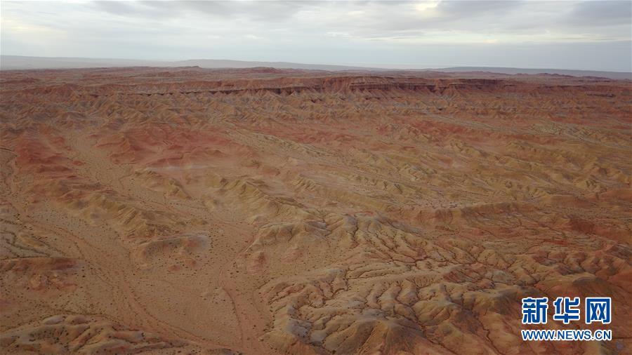 位于青海省海西蒙古族藏族自治州红崖地区的模拟火星基地(8月18日摄