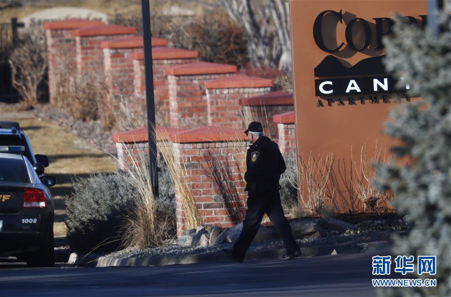 (国际)(1)美国丹佛附近枪击事件中2死6伤