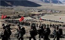 武警西藏总队开展冬季野营拉练