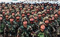 山西武警开展冬季实战野营拉练