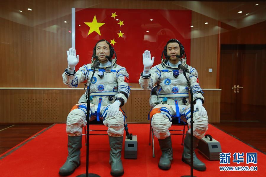 (新华全媒头条·图文互动)(6)筑梦九天写忠诚——记英雄的中国航天员群体