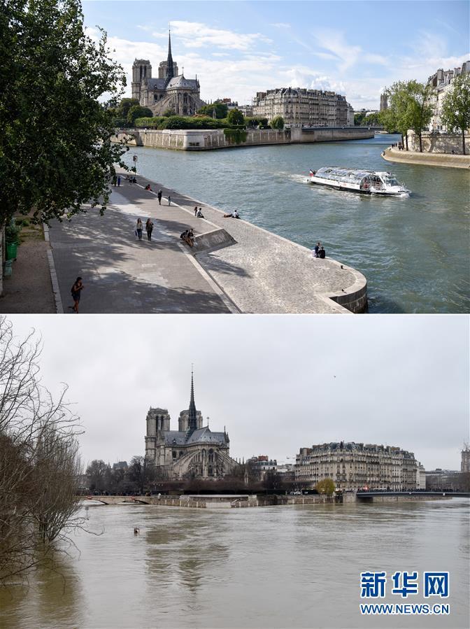(国际)(1)塞纳河洪水将达峰值 大巴黎地区疏散约1500人