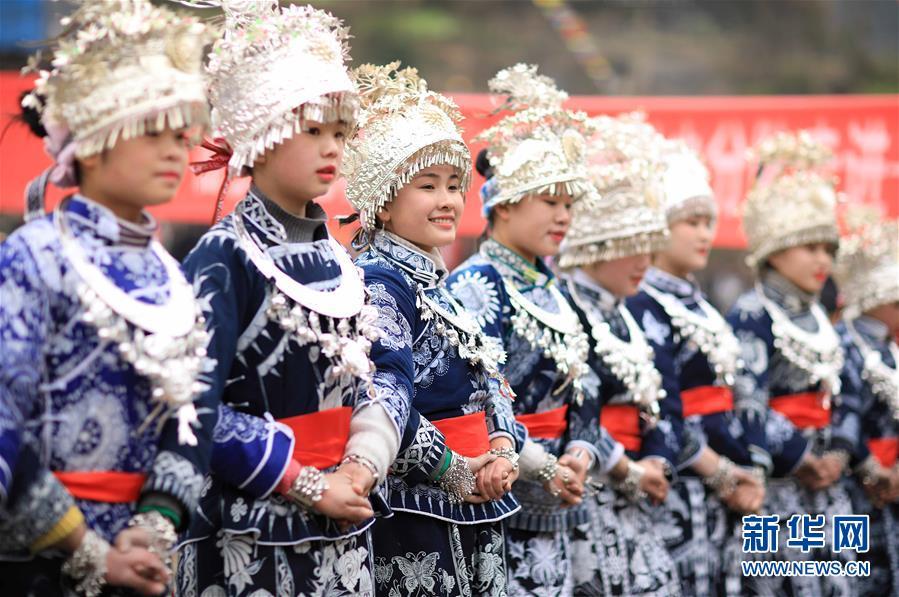 #(社会)(7)贵州丹寨:芦笙会上秀才艺