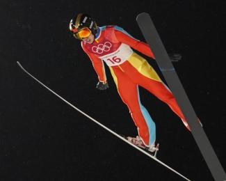 常馨月列跳台滑雪第20名