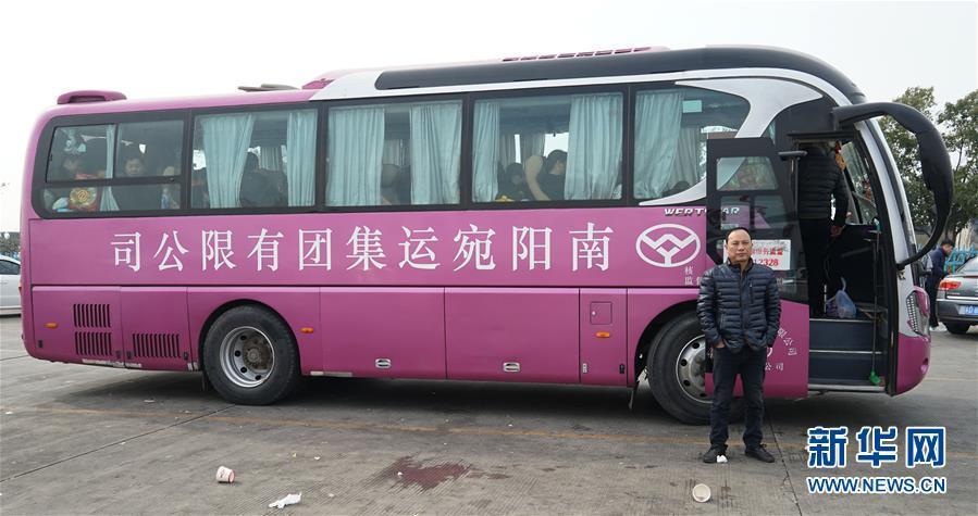 农民工的春节专车——长途大巴返乡