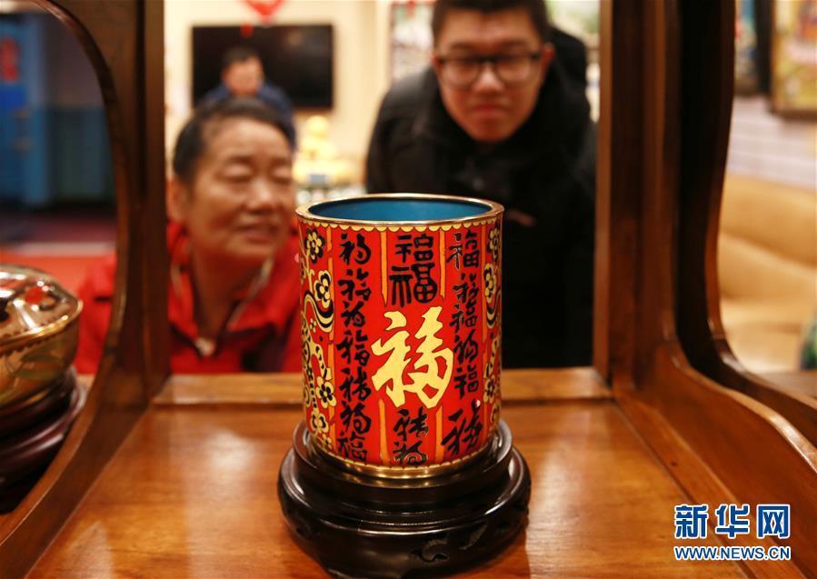 景泰蓝皇家艺术庙会在京开幕