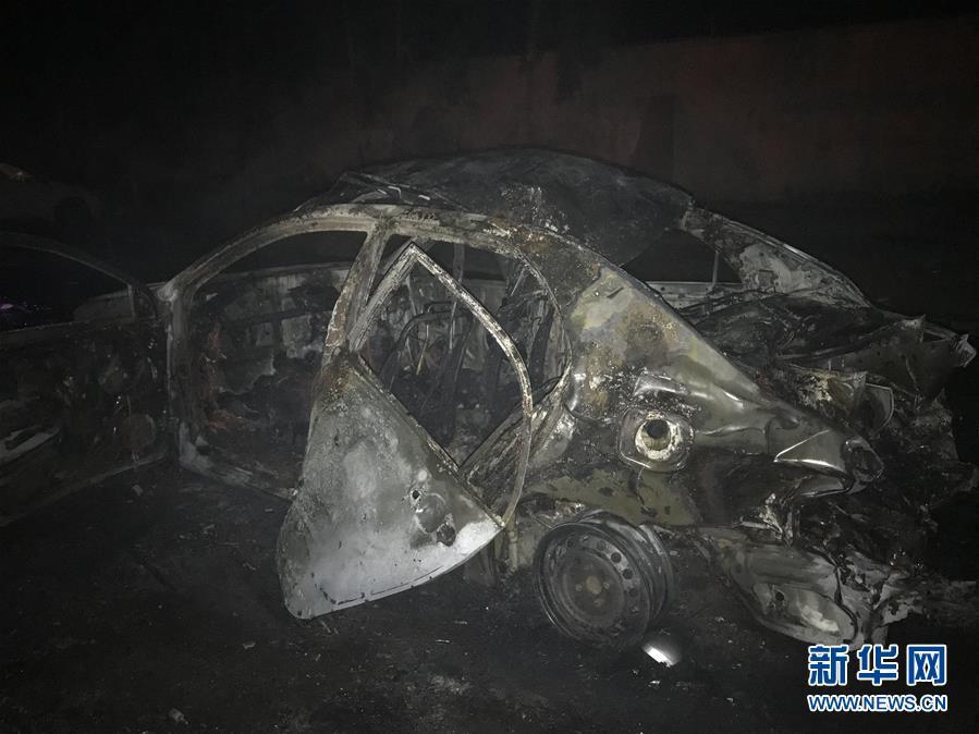 (国际)(2)阿富汗发生自杀式汽车炸弹袭击10人丧生