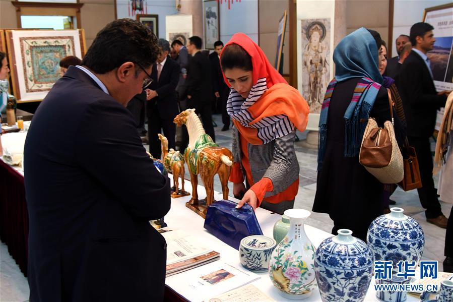 "(XHDW)(2)""丝绸之路文化之夜""艺术展在阿富汗举行"