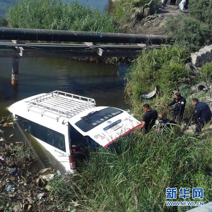 (国际)3名中国游客在埃及北部车祸中遇难