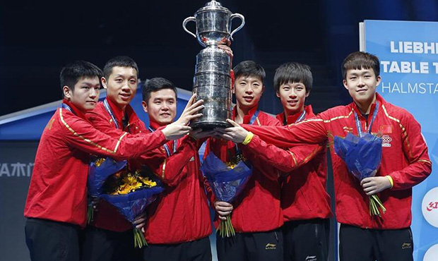 世乒赛:中国队连续第九次捧得斯韦思林杯.jpg