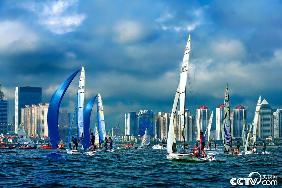 大海扬帆,青岛打造帆船之都城市品牌,有力提升了国际知名度和影响力.