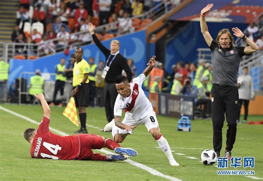 (世界杯)(3)足球——C组:丹麦队胜秘鲁队