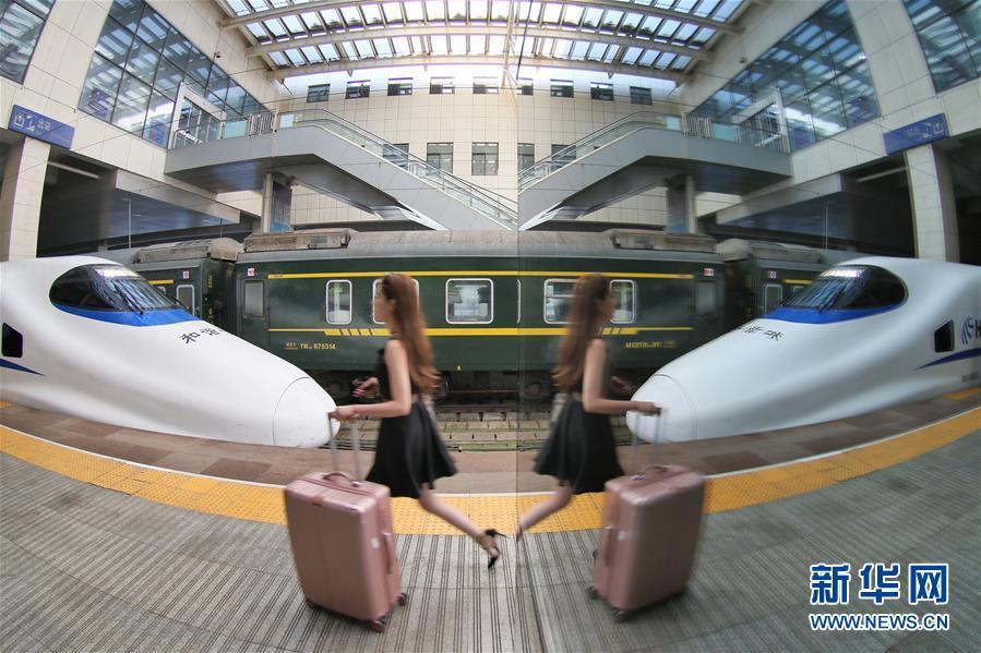 #(社会)(1)7月1日全国铁路暑运拉开帷幕
