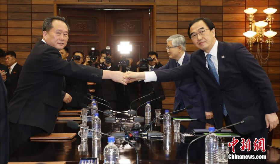 韩朝举行今年第四次高级别会谈