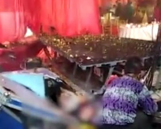 喜事变丧事 河南一婚礼发生爆炸 新娘父亲遇难.jpg