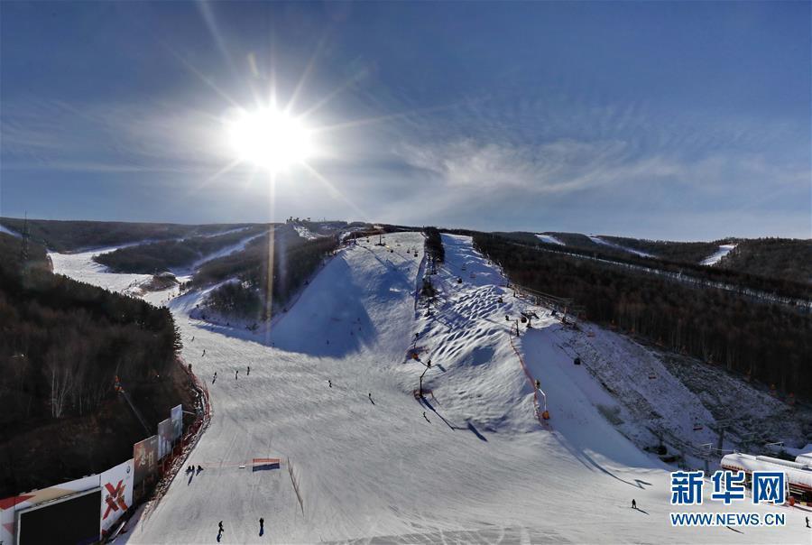 (体育·专题)(1)北国风光——崇礼冰雪风光 绽放冬日激情
