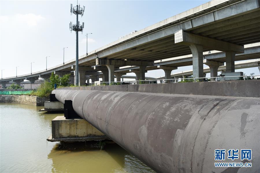 第四条对澳供水管道在珠海通水