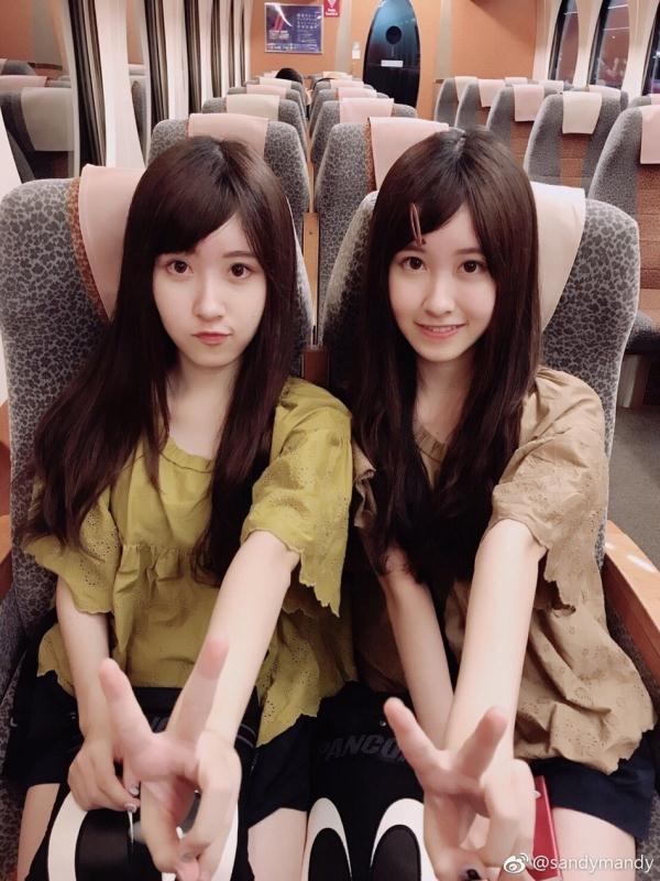 """被称为""""最美双胞胎""""的中国台湾双胞胎姐妹花,她们现在长成大姑娘了!"""