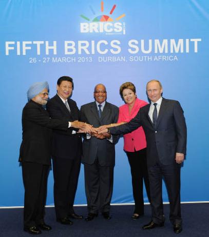 历次金砖国家领导人峰会上的中国声音图片