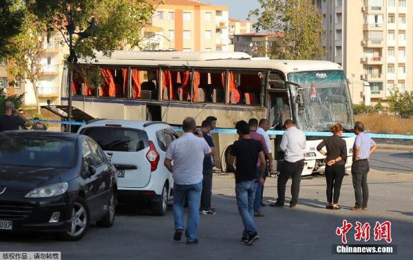 土耳其西部城市发生垃圾桶爆炸案