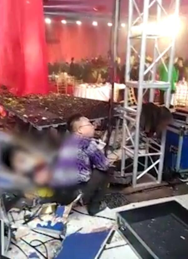 河南新郑一家酒店在举办婚礼时发生爆炸 致1死11伤