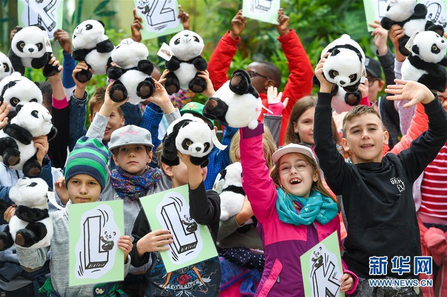 """维也纳美泉宫动物园喜迎大熊猫""""园园"""""""