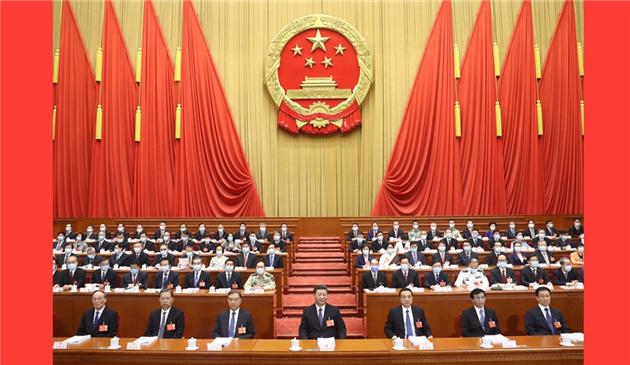 十三屆全國人大三次會議在北京開幕.jpg